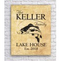 Canvas for a Family Lake Home - Tan