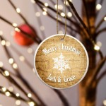 Christmas Ceramic Ornament - Pine