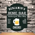 Personalized Classic Tavern Bar Signs - Home Bar