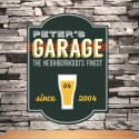 Personalized Classic Tavern Bar Signs - Garage