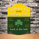 Personalized Classic Tavern Bar Signs - Irish Pub