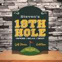 Personalized Classic Tavern Bar Signs - 19thHole