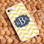 Chevron iPhone Cases - Coastal Classic Chevron iPhone Case