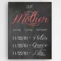 Definition of A Mother Canvas Sign - Our Mother