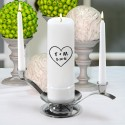 Heart of Love Unity Candle Set (CP11)