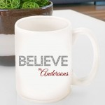 Holiday Coffee Mug - Believe