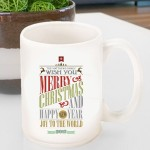 Holiday Coffee Mug - Christmas Words