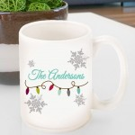 Holiday Coffee Mug - Lights