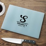 Personalized Glass Cutting Boards - Monogrammed Cutting Board