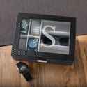 Monogrammed Men's Watch and Sunglasses Box - Modern