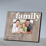 Family Frames - Our Family Picture Frame-Family