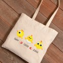 Personalized Easter Canvas Bags - Chicks