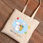 Personalized Easter Canvas Bags - Easter Hunt
