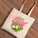 Personalized Easter Canvas Bags - Easter Bouquet