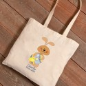Personalized Easter Canvas Bags - Pastel Bunny