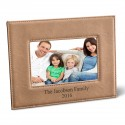 Leatherette 5x7 Picture Frame - Tan Picture Frame