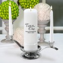 Two Shall Be One Unity Candle Set (F21)