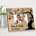 Couple Frames - Winding Down Together Wooden Picture Frame