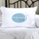 Personalized Blue Light of God Confirmed Pillow Case