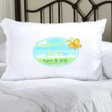 Personalized Sunshine and Butterflies Confirmed Pillow Case