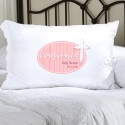 Personalized Pink Light of God Confirmed Pillow Case