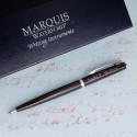 Personalized Waterford® Arcadia Ballpoint Pen - Black