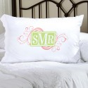 Personalized Felicity Cheerful Monogram Pillow Case - CM3