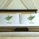Personalized Fresh Green Perfect Panache Pillow Case Set