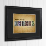Adobe Sunset Architectural Elements Name Print