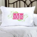 Personalized Felicity Cheerful Monogram Pillow Case - CM7