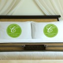Personalized Fresh Green Magical Monogram Pillow Case Set