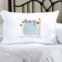 Personalized Nature's Song Pillow Case
