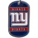 Personalized True Colors NFL Dog Tag  - New York Giants