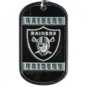 Personalized True Colors NFL Dog Tag  - Oakland Raiders