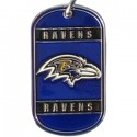 Personalized True Colors NFL Dog Tag  - Baltimore Ravens