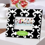 Color Brights Picture Frames - Dramatic Damask Picture Frame