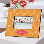 Color Brights Picture Frames - Orange Melon Picture Frame