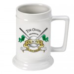 Personalized 16 oz. German Beer Stein - Golf
