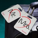 Personalized Heartstrings Luggage Tags