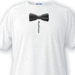 Personalized Groomsman T-shirt BowTie
