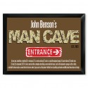 "Traditional Personalized Pub Signs - NEW!  Man Cave ""Defined"" Pub Sign"
