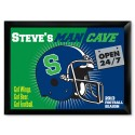 Traditional Personalized Pub Signs - NEW!  Open 24-7 Man Cave Pub Sign
