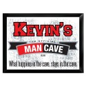 """Traditional Personalized Pub Signs - NEW!  """"Official"""" Man Cave Pub Sign"""