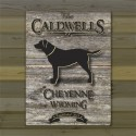 Labrador Weathered Wood Cabin Canvas