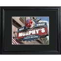 Personalized NFL Pub Sign with Wood Frame - Buffalo Bills