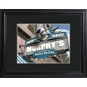 Personalized NFL Pub Sign with Wood Frame - Carolina Panthers