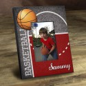 Personalized Hoops Picture Frame