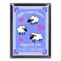 Personalized Counting Sheep Room Sign (Boy)
