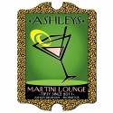 "Vintage Personalized Pub Signs - Vintage Personalize ""Cosmo-Chic"" Martini Lounge Sign"