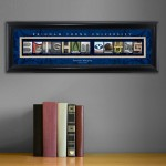Collegiate Framed Architecture Print in Wood Frame - Bringham Young University